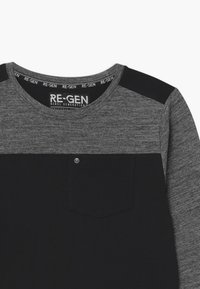 Re-Gen - Top sdlouhým rukávem - grey/black - 2