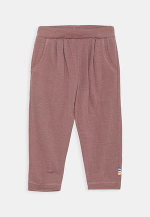 PANTS UNISEX - Trousers - berry