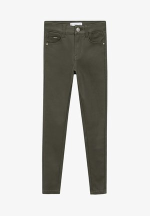 COATED - Jeans Skinny Fit - khaki