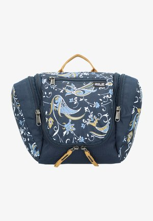 Wash bag - midnight blue all over