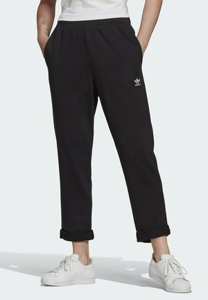 BF PANTS TREFOIL ESSENTIALS ORIGINALS RELAXED - Tracksuit bottoms - black