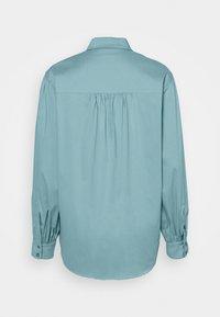 Esprit Collection - BLOUSE - Košile - dark turquoise - 1