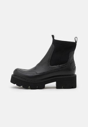 MILEY - Platform ankle boots - black