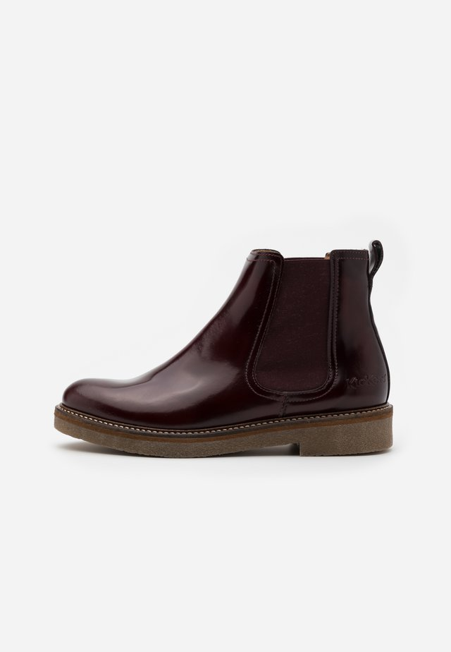 OXFORDCHIC - Ankle Boot - burgundy