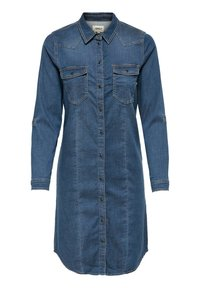ONLY - Denim dress - medium blue denim - 0