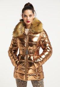 faina - Winter jacket - gold - 0