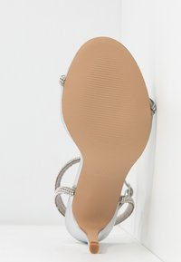 Steve Madden - FESTIVE - High heeled sandals - silver - 6