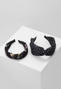 Even&Odd - 2 PACK - Hair Styling Accessory - black - 0