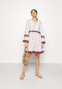 YAS - YASFIDELI DRESS - Day dress - star white - 1