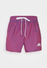 adidas Performance - Pantalón corto de deporte - semi night flash - 4
