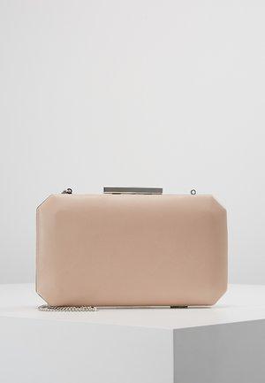 TARA GEO BOX - Pikkulaukku - nude