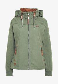 Ragwear - APOLI - Summer jacket - dusty green - 5
