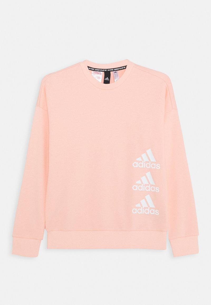 adidas Performance - CREW - Sweater - hazcor/white