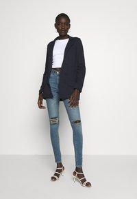 Missguided Tall - Short coat - navy - 1