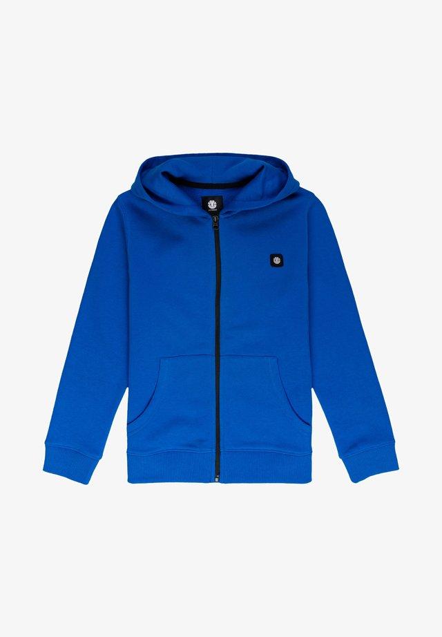 Hoodie met rits - imperial blue