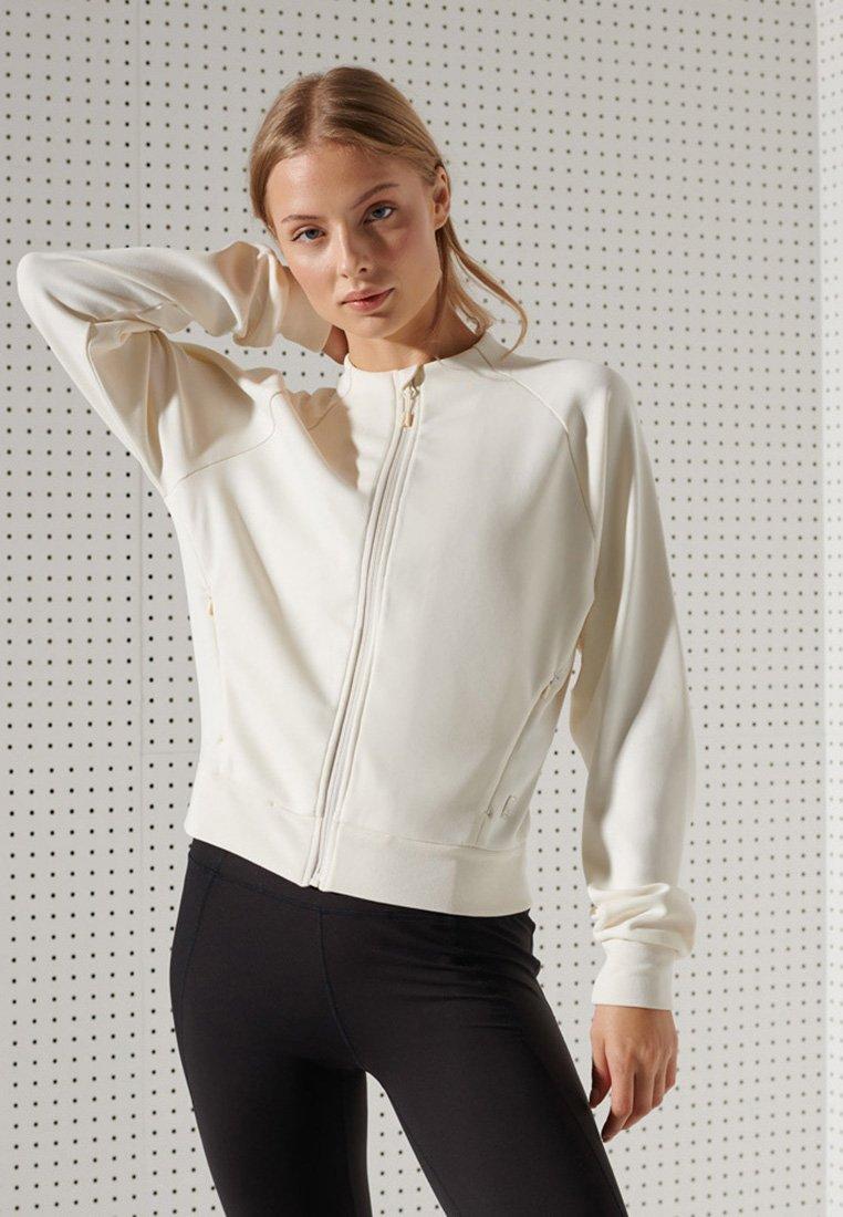 Superdry - Light jacket - riff white