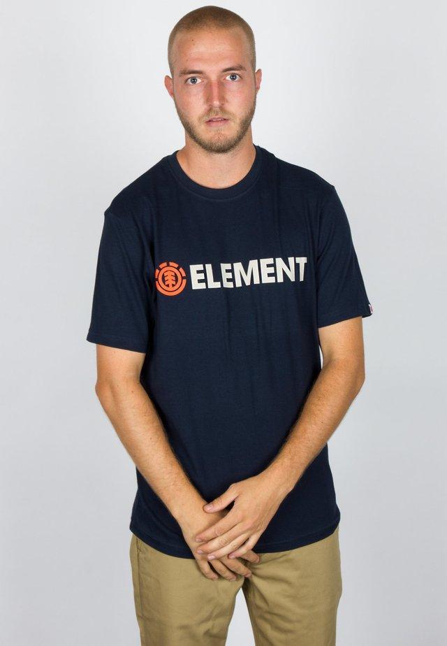 BLAZIN - T-shirt imprimé - eclipse navy