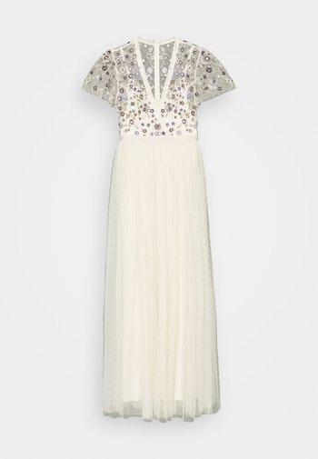 PRAIRIE FLORA BODICE DRESS - Ballkjole - champage