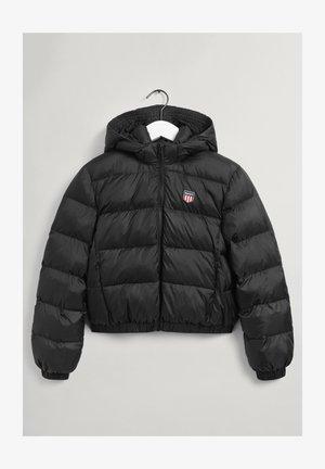 SHIELD PUFFER - Zimní bunda - black