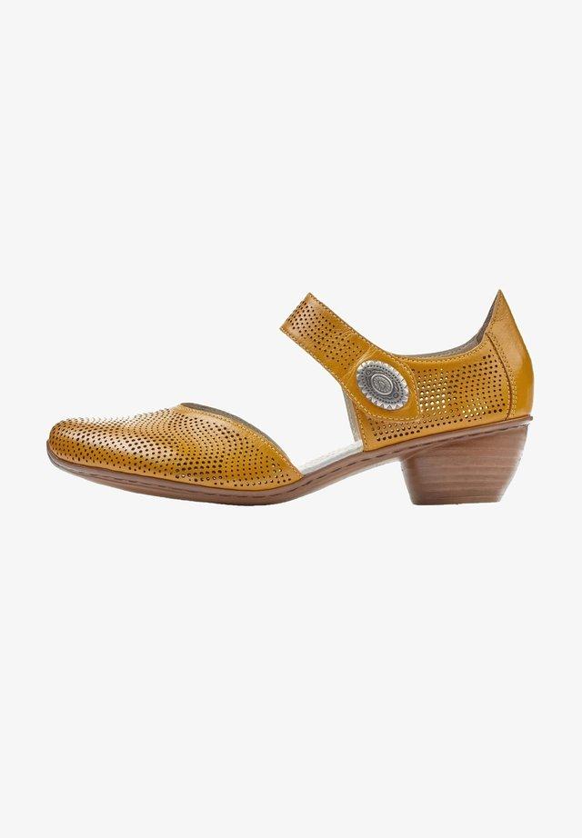 Escarpins - yellow