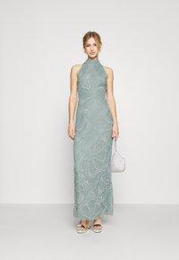 Lace & Beads - NAEVA MAXI - Ballkjole - grey as nalani - 1