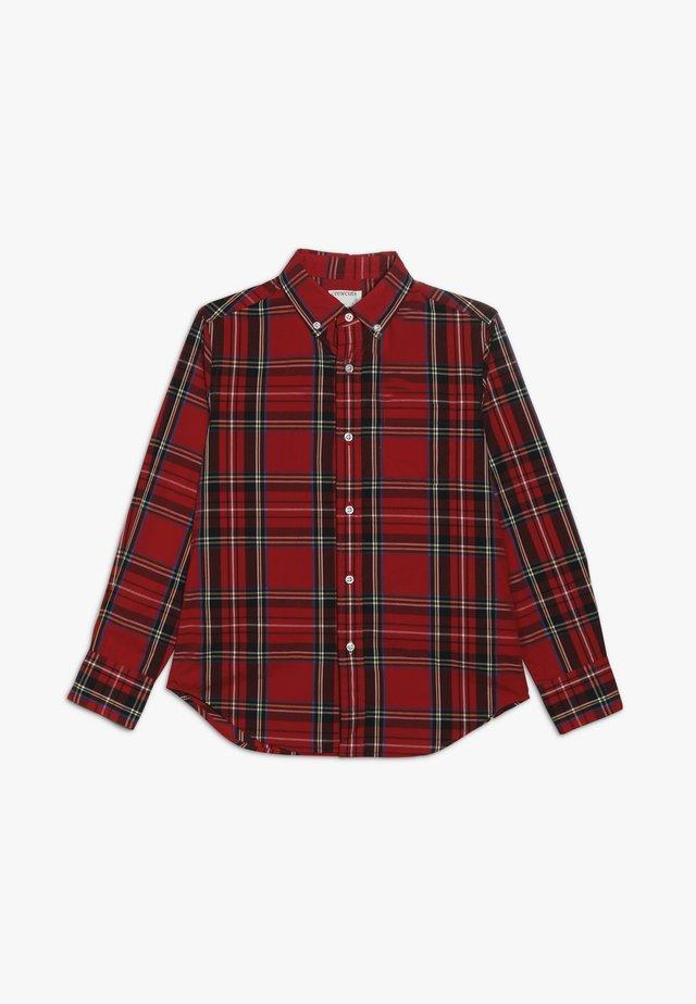 GOOD TIDINGS PLAID - Shirt - red