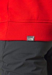 The North Face - DREW PEAK HOODIE - Bluza z kapturem - salsa red - 5