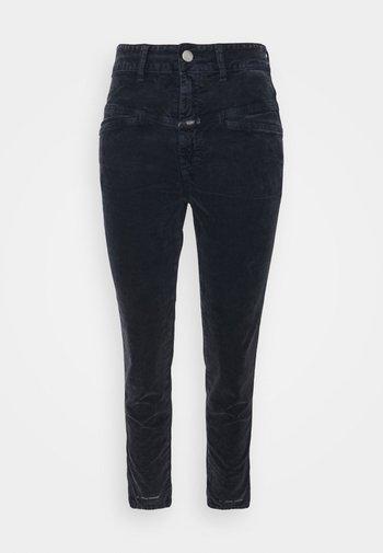 PEDAL PUSHER - Trousers - dark night