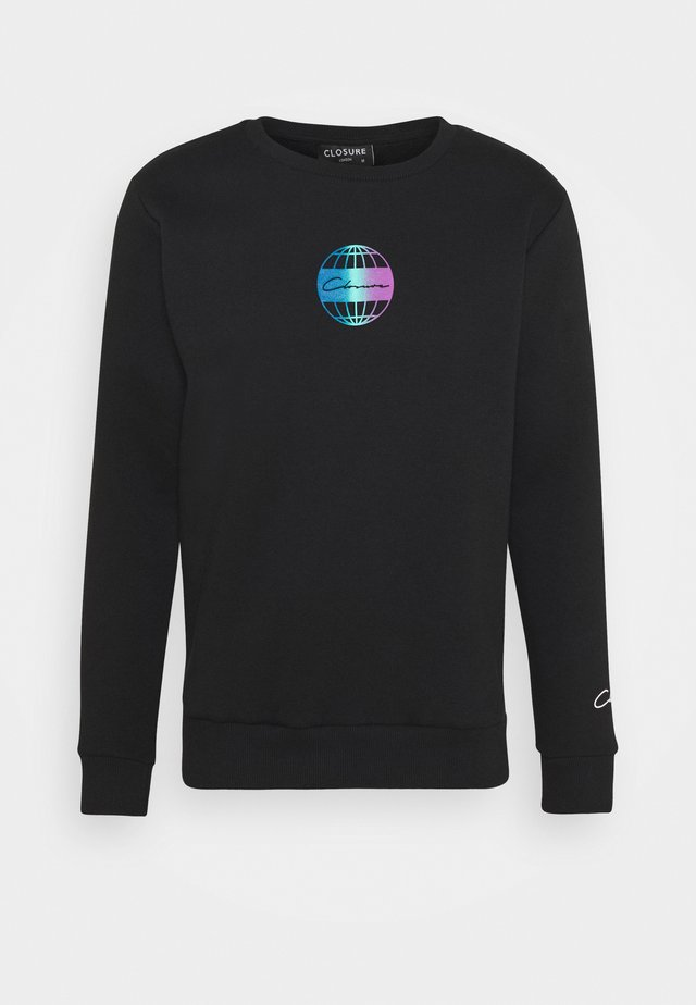 GLOBAL CREWNECK - Sweatshirt - black