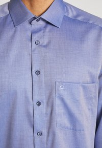 OLYMP - LUXOR MODERN FIT GLOBAL KENT - Overhemd - marine - 4