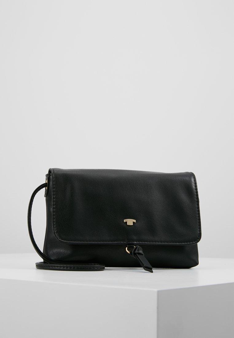TOM TAILOR - LUNA FALL FLAPBAG - Across body bag - black