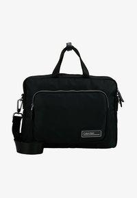 Calvin Klein - PRIMARY GUSSET LAPTOP BAG - Aktovka - black - 5
