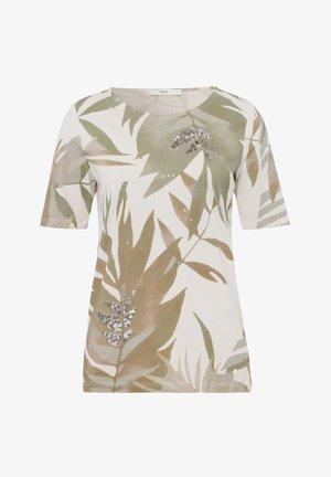 STYLE COLLETTE - Print T-shirt - khaki