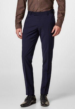 ACTIVE SUIT AUS WOLL-MIX - Suit trousers - navy