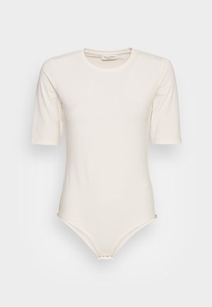 SHORT SLEEVES ROUND NECK - Basic T-shirt - shaded sand