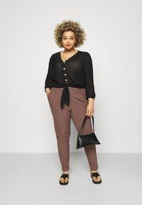 Kaffe Curve - PANTS - Trousers - shopping bag - 1