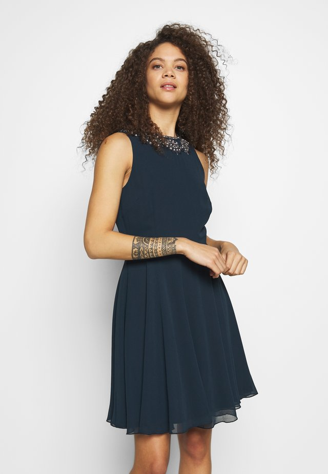 AMANDA DRESS - Juhlamekko - navy