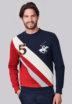 CLASSIC FIT - Sweatshirt - w blue