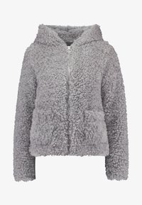 Miss Selfridge - HOODED SHORT - Winter jacket - grey - 3