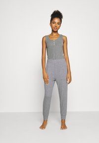 aerie - HIGH RISE MARSHALL - Tracksuit bottoms - grey - 1