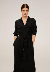 Mango - NINGBOX-I - Shirt dress - black - 0