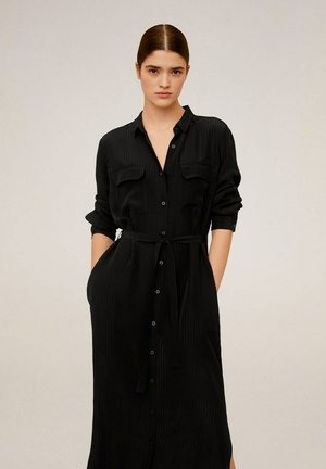 NINGBOX-I - Shirt dress - black