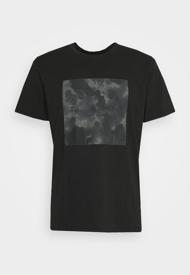 CAMO BOX TEE - Print T-shirt - black