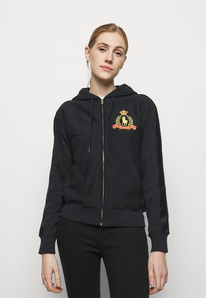 Zip-up hoodie - polo black
