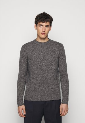 Sweter - marled navy