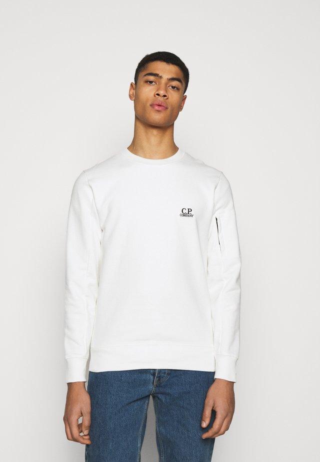 CREW NECK - Sweater - gauze white