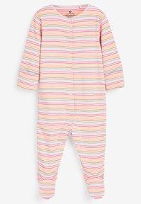 Next - 3 PACK LADYBIRD STRIPE - Sleep suit - pink - 2