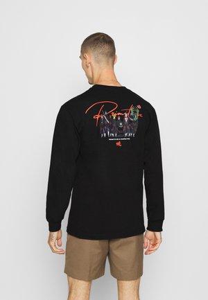 AKATSUKI CLAN TEE - Langærmede T-shirts - black