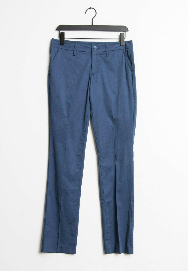 Sisley - Trousers - blue