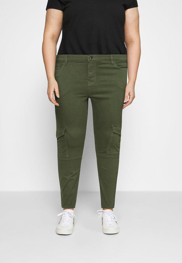 JYUKI ANKLE PANT - Trousers - army green